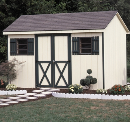 Eased Edges - BY A-Frame Shed: 10X18