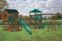 C-5 Castle Swing Set