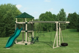 KC-5 Deluxe Swing Set