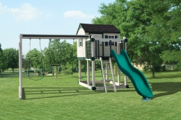 C-1 Hideout Swing Set