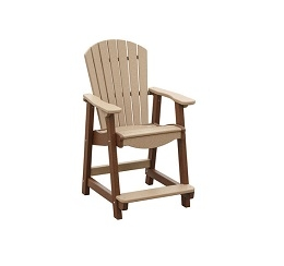 Poly Adirondack Balcony Chair