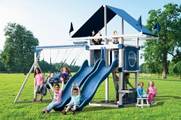 KC-7 Deluxe Swing Set
