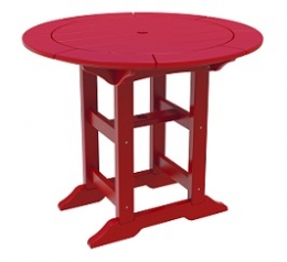 "Poly Duke 36"" Round Dining Table"