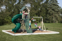KTB-2 Turbo Tower Swing Set
