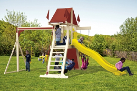 SK-3 Mountain Climber Swing Set