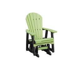 Poly Adirondack Gliding Chair