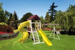 SK-18 Turbo Mountain Climber Swing Set