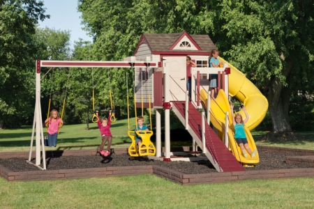 C-2 Turbo Escape Swing Set