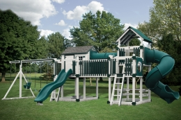 C-3 Tunnel Escape Swing Set
