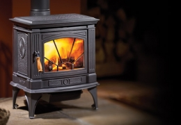 Hampton H200 Cast Iron Wood Stove