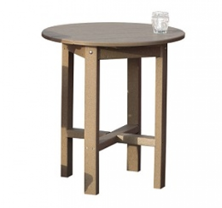 "Poly 28"" Cafe Table"
