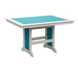 "Poly 44""x60"" Rectangle Balcony Table"