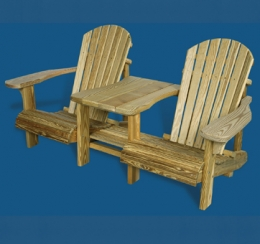 Adirondack Settee - Limited Quantities
