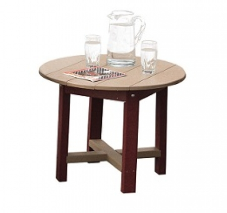 "Poly 28"" Side Table"